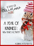 A Year of Kindness Challenge - 12 Days of Christmas Freebi