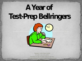 A Year of Language Arts Test-Prep Bellringers