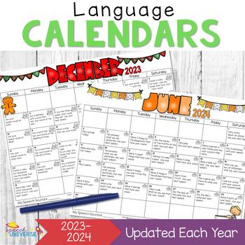 Language Calendars