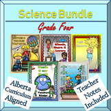 A Year of grade 4 Science lapbooks Bundle