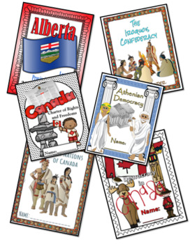A Year of Lapbooks: Grade 6 Social Studies