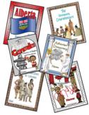 A Year of Grade 6 Social Studies Lapbooks Bundle