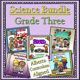 A Year of Grade 3 Science 3 Lapbooks Bundle