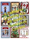 A Year of Grade 5 Social Studies Lapbooks Bundle