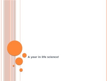 A Year of Life Science Review