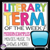 LITERARY TERM OF THE WEEK