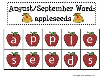 A Year of Making Words! Literacy Centers