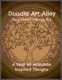 A Year of Mandalas Coloring Book