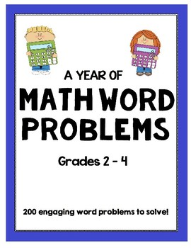 A Year of Math Word Problems