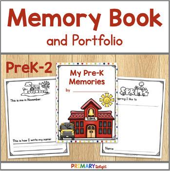 Memory Book and Portfolio (Preschool, Kindergarten, 1st & 2nd Grade)