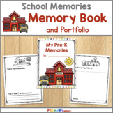 Yearlong Memory Book and Portfolio for Preschool, Pre-K, Kindergarten, 1st & 2nd