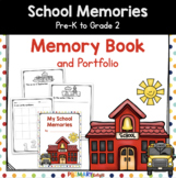 Monthly Memory Book and Portfolio for Preschool, Pre-K, Kindergarten, 1st & 2nd