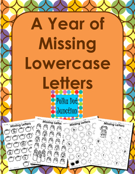 A Year of Missing Lowercase Letters