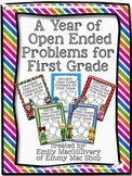 A Year of Monthly Open Ended Problems Bundle