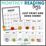 A Year of Monthly Reading Logs!