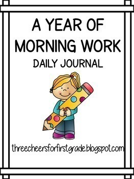 A Year of Morning Journals: First Grade
