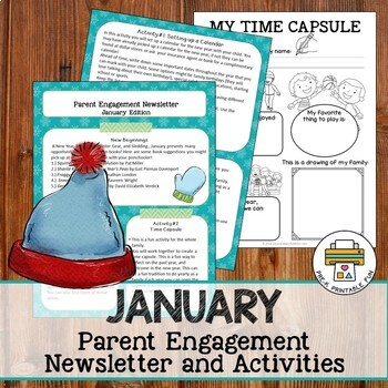 A Year of Parent Engagement Newsletters and Activities