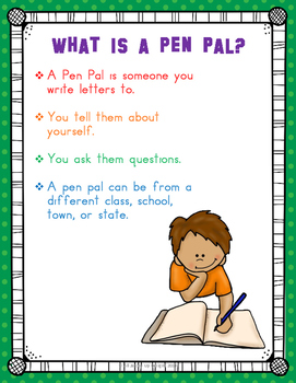 Pen Pals and Letter Writing (a full year of letter writing templates)