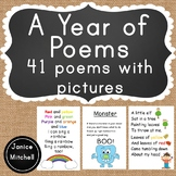 A Year of Poems with Pictures! A Poetry Book for Kindergarten to Grade 2