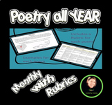 A Year of Poetry: Lessons for the whole year