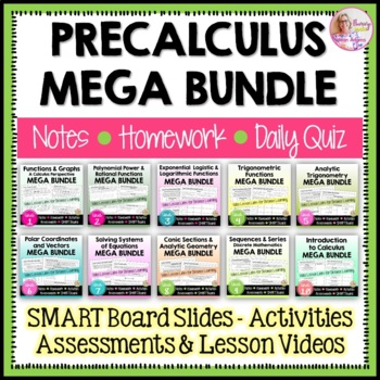 PreCalculus: A Year of Curriculum