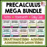 PreCalculus Curriculum Mega Bundle Plus