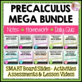 PreCalculus Curriculum Mega Bundle Plus