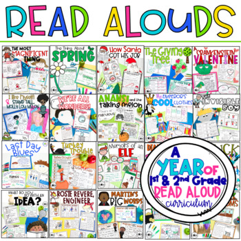 A Year of 1-2 Interactive Read-Aloud Lesson Plans Curriculum
