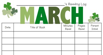 A Year of Reading Logs {2 Versions Each!}