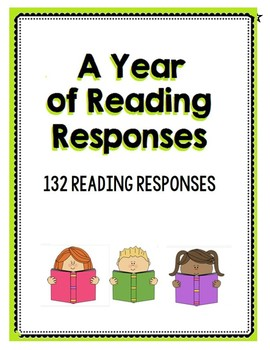 A Year of Reading Responses - K to 3