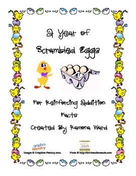 A Year of Scrambled Addition
