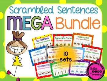 Scrambled Sentences MEGA Bundle