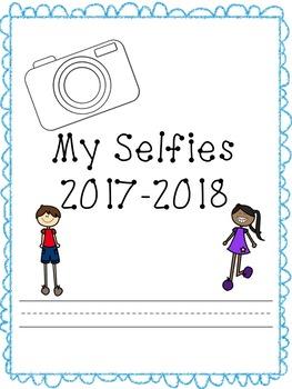 A Year of Selfies Memory Book