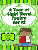 A Year of Sight Word Poetry: Set #2 ***Now with even MORE