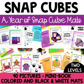 A Year of Snap Cube Mats + Mini Books