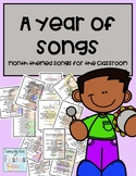 A Year of Songs: Monthly Themed Songs for Your Classroom