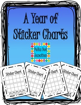 A Year of Sticker Charts