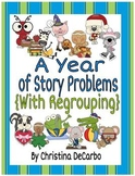 A Year of Story Problems for Math With Addition and Subtra