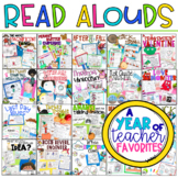 A Year of Teacher Favorite Read-Aloud Lesson Plans Curriculum for K-2