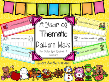A Year of Thematic Pattern Mats