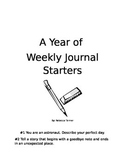 A Year of Weekly Creative Writing Pompts