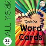 A Year of Word Lists