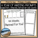 Year of Writing Prompts: Opinions, Narratives & Informativ