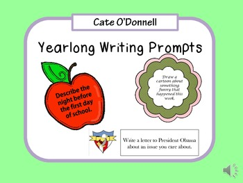 A Year of Writing Prompts