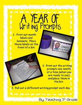 Year of Writing Prompts