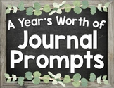 A Year's Worth of Journal Prompts!
