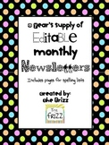 A Year's Supply of Editable Newsletters