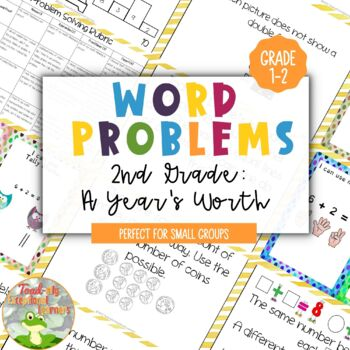 A Years Worth of 2nd Grade Word Problems
