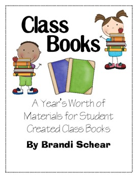 A Year's Worth of Class Made Books for Kinders