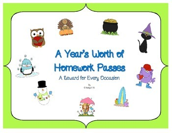 A Year's Worth of Homework Passes